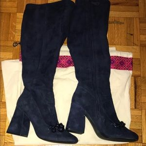 2cf8bffe9 Tory Burch Shoes - AUTHENTIC Tory Burch Addison Suede Knee Boots